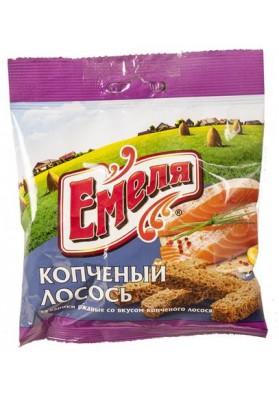 Picatostes sabor salmon ahumado 60x40gr EMELYA