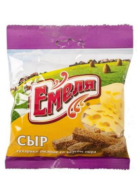 Picatostes sabor queso 60x40gr EMELYA