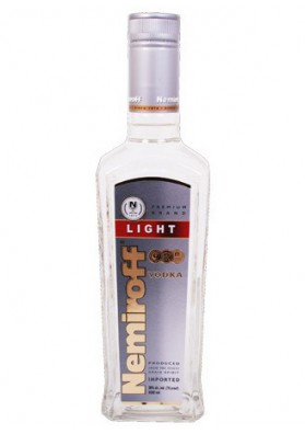 Vodka NEMIROFF LIGHT 38%alk.18x0.5L