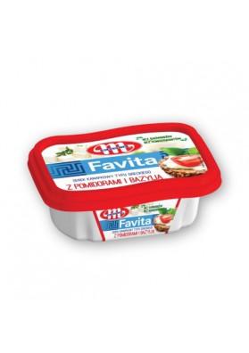 Queso para untar con tomate y albahacaFAVITA 150gr MLEKOVITA