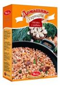 Гречка с грибами в пакетах быстрого приготовления 2х150гр УВЕЛКА
