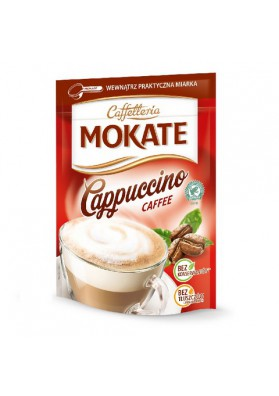 Capuchino MOKATE con cafe 10x110gr CAFFETTERIA