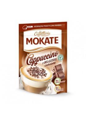 Capuchino MOCATE con chocolate belgica 10x110gr CAFFETTERIA