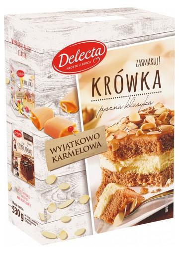 Preparacion para bizcochoKROWKA 7x530gr DELECTA