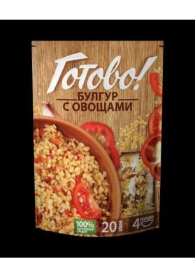 Bulgur con verduras 9x250gr GOTOVO