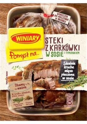 Especia paraSTEKI Z KARKOWKI en salsa con tomillo 32x44gr WINIARY