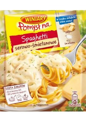 Especia para espaquetis en salsa queso-crema 22x31gr WINIARY