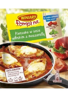 Приправа для курицы в итальянском соусе с моцарелой 25х35гр WINIARY