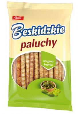 Palitos de pan con oregano y albahaca 12x100gr AKSAM
