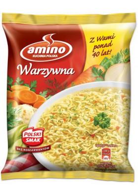 Sopa seco de verduras con fideos 24x58gr AMINO