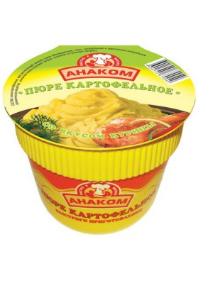 Картофельное пюре со вкусом курицы 24x40гр АНАКОМ