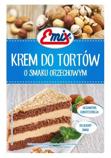Crema para tarta con sabor a cacahuete 15x100gr EMIX