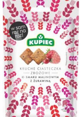 Galletas de cereales sabor frambuesa y arandano 14x50gr KUPIEC