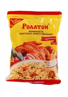 Вермишель со вкусом курицы 60гр РОЛТОН