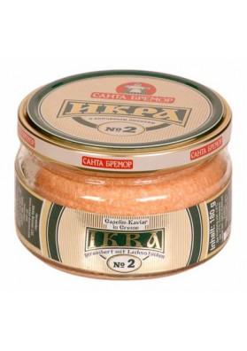 Caviar de bacalao con salmon Nº2 6x180gr SANTA BREMOR
