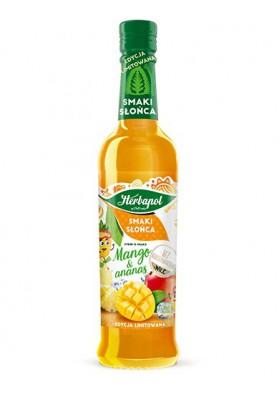 Jarabe sabor mango y piña 8x420ml HERBAPOL
