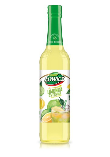 Jarabe sabor lima y limon 6x400ml LOWICZ