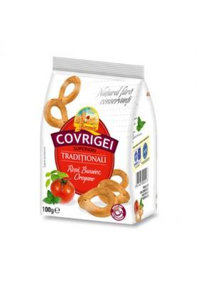 Rosquillas  COVRIGI sabor tomate y oregano 100gr BOROMIR