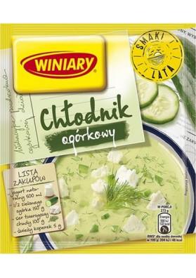 Sopa en frio con pepinos en polvo  CHLODNIK 32x35gr WINIARY