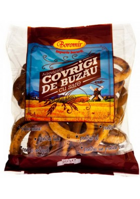 Rosquillas  COVRIGI de BUZAU con sal 30x200gr BOROMIR
