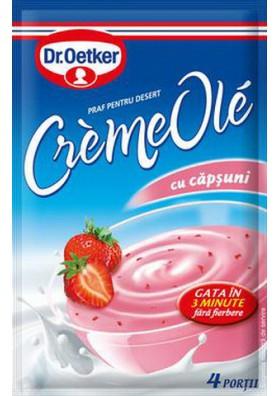 Crema-desert sabor fresa  OLE 75gr Dr.Oetker