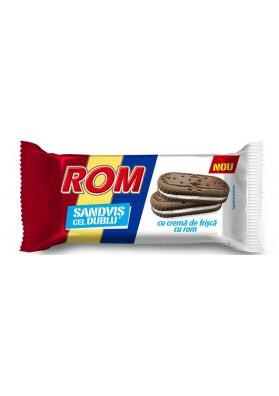 Galletas sandwich con crema de nata y rom 24x36gr ROM