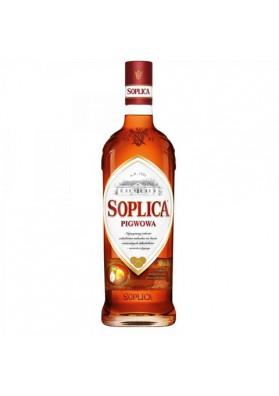 Licor SOPLICA con sabor de membrillo 30%alk  15x500ml