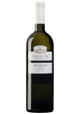 Vino blanco seco  TSINANDALI 13%alc.6x0.75L BADAGONI