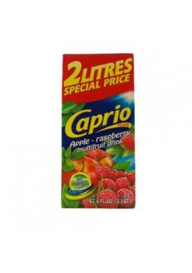 Bebida con jugo de manzana-frambuesa 6x2L CAPRIO