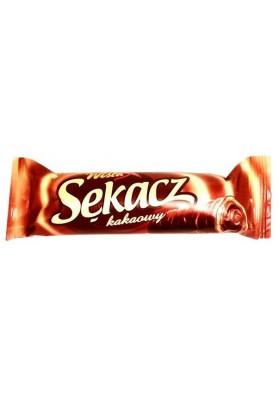 Tubo de barquillos con crema de cacao SEKACZ 38x32gr WISLA
