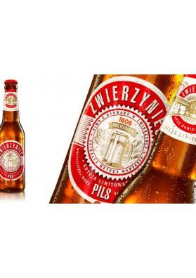Cerveza PERLA ZWIERZYNIEC 6.0%alc. 20x330ml