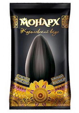 Pipas de girasol tostadas 36x100gr MONARH