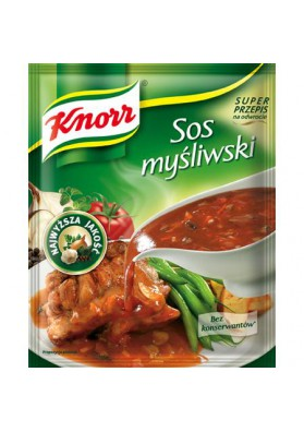 Salsa seco SOS MYSLIWSKI 22x37g KNORR