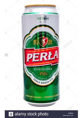 Cerveza  PERLA CHMIELOWA 6.0%alc. 24x500ml lata