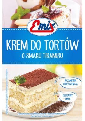 Crema para tarta sabor tiramisu 15x100gr EMIX