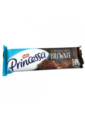 Barquillos en chocolate Princessa Brownie 30x33gr NESTLE