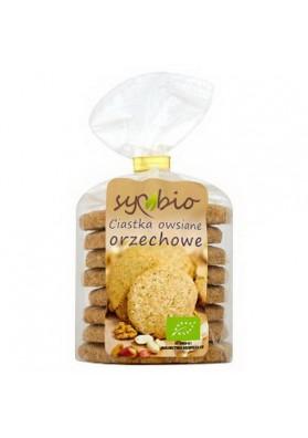 Galletas de avena con cacahuete organico 12x190gr SYMBIO