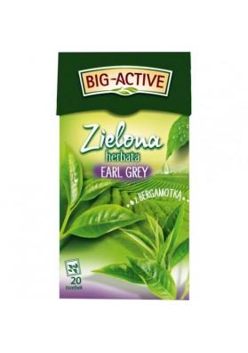 BIO Te verde EARL GREY con bergamota 20x1.5gr BIG ACTIVE