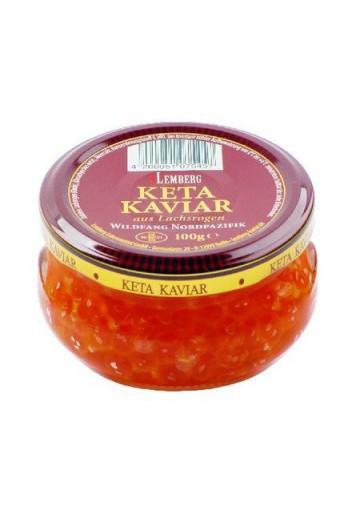 Caviar de salmon  PREMIUM  24x100gr LEMBERG