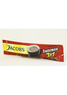 Cafe soluble 3x1 JACOBS INTENSO 24x13.5gr