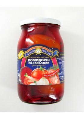 Tomate concervado  PO-KAVKAZSKI 12x880gr TR