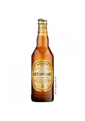 Cerveza  AVTORSKOE 6.8%alk.0.5L PERSHA PRIVATNA