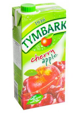 Zumo de manzana y guinda 1L TYMBARK