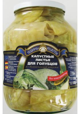 Hojas de col fermentada 6x1500gr TR