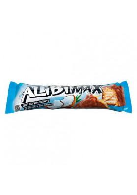 Barquillos en chocolate con caramelo y coco  ALIBI MAX 49gr JUTRZENKA