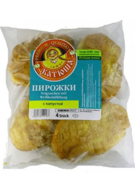 Пирожки с капустой жареные 4шт КАТЮША