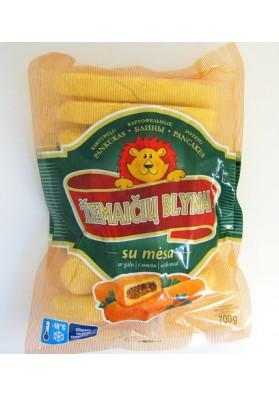 Bollos de patata congelado reeno de carne 20x700gr LT