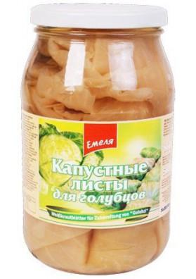 Hojas de col fermentado 12x860gr EMELYA