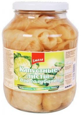 Hojas de col fermentado 6x1500gr EMELYA