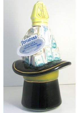 Vodca Gorilochka en ceramica  SOMBRERO 40%alc 0.7L  ZLATOGOR